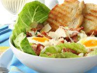 Caesar Salad con maionese al tartufo
